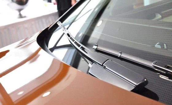 China Stainless Steel Windshield Wiper Blades / Clear Visibility Car Window Wiper Blades supplier