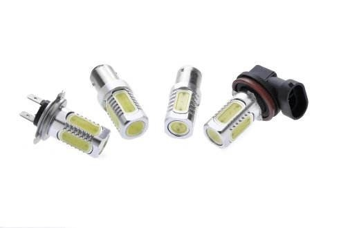 China Heat Dissipation Automotive LED Headlight Bulbs With Fan Cooling 9-36V 40W 4000lm supplier
