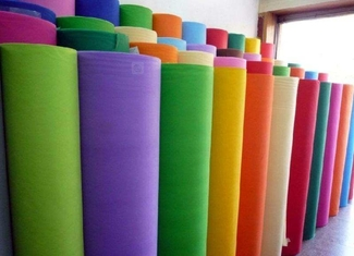 China Higher Efficiency Polyester Non Woven Filter Cloth 85% Media Efficiency supplier