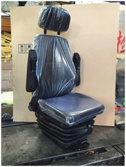 China Luxury Leather School Bus Seats , Bus Passenger Seat Wear - Resistance supplier