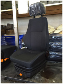 China Adjustable Brown Shock Absorbing Car Seat For Automotive Color Optional distributor